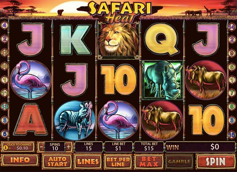 Menang Mudah Bermain Safari Slot